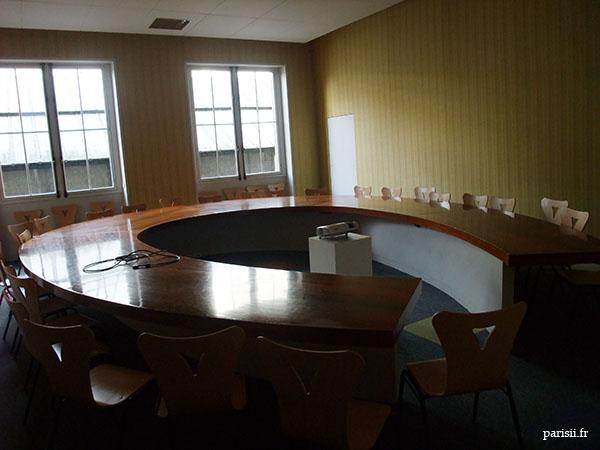 Salle de présentation de l'Hôtel de Ville