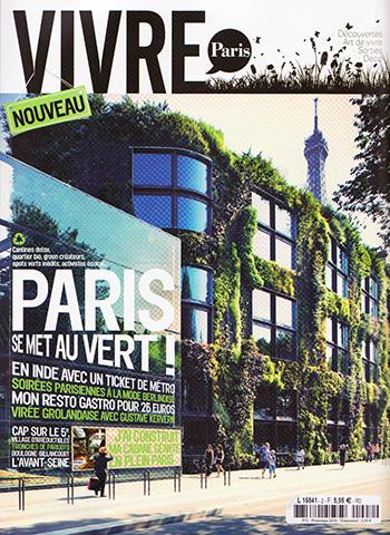 Couverture de Vivre Paris