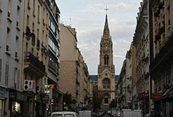 Notre Dame de la Croix, église de Ménilmontant