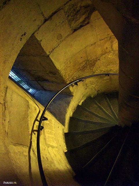 Escalier d'accès à la Chapelle Haute