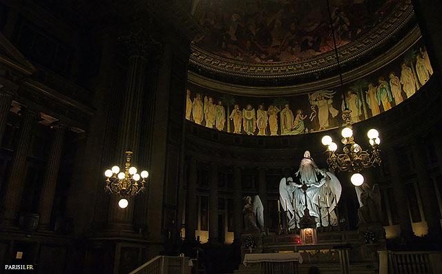 Autel et abside de la Madeleine